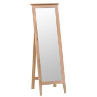See more information about the Bayview Cheval Mirror Oak