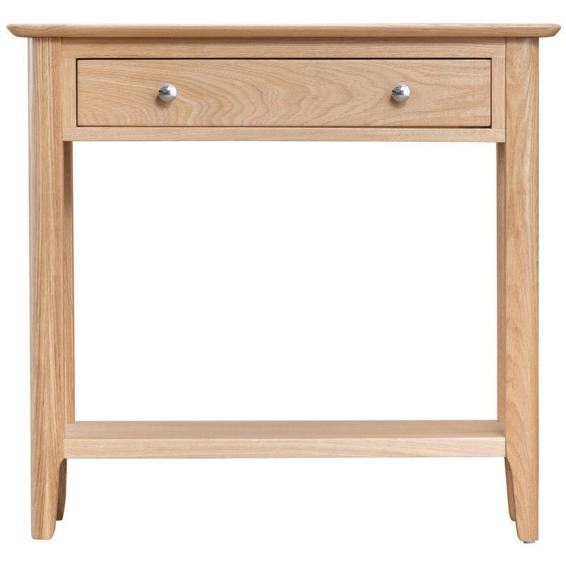 Bayview Light Oak Home Console Table