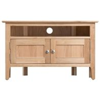 See more information about the Bayview Light Oak Home Corner TV Cabinet