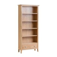 See more information about the Bayview Large Bookcase Oak 5 Shelf