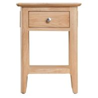 See more information about the Bayview Light Oak Home Side Table