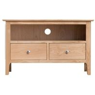 See more information about the Campton Oak 2 Drawer TV Cabinet