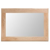 See more information about the Bayview Light Oak Wall Mirror