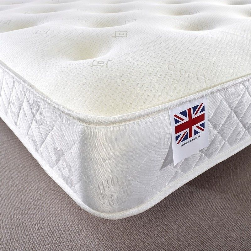 Ortho Bonnell Sprung Memory Mattress Super King Firm