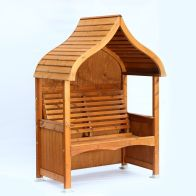 See more information about the AFK Premium Orchard Arbour Beech Stain 2 Seat