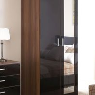 See more information about the Ottawa MDF Walnut Finish 2 Door Wardrobe