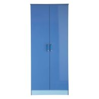 See more information about the Ottawa 2 Tones Blue 2 Door Wardrobe