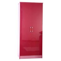 See more information about the Ottawa 2 Tones Pink 2 Door Wardrobe