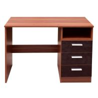 See more information about the Ottawa Black and Walnut Finish Study Desk