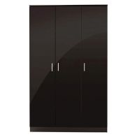 See more information about the Ottawa Wardrobe Black 3 Door