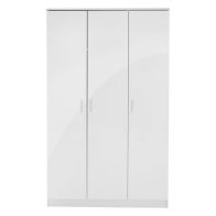 See more information about the Ottawa Wardrobe White 3 Door