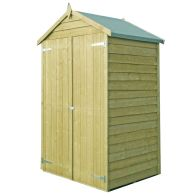 See more information about the Shire Overlap Pressure Treated Garden Shed 4' x 3'