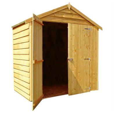 Shire Overlap Garden Shed (4' x 6')