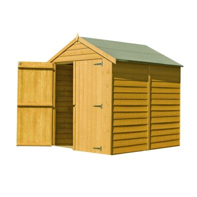Shire Overlap Garden Shed (6' x 6')