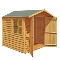 See more information about the Shire Overlap With Window Garden Shed (7' x 7')