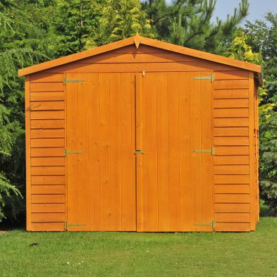 Shire Overlap Garden Shed 10' x 10'