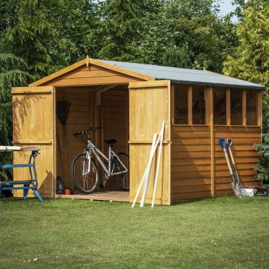 Shire Overlap Garden Shed 12' x 6'