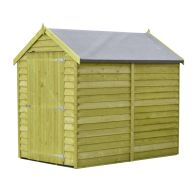 See more information about the Shire Overlap Pressure Treated Garden Shed 6' x 4'