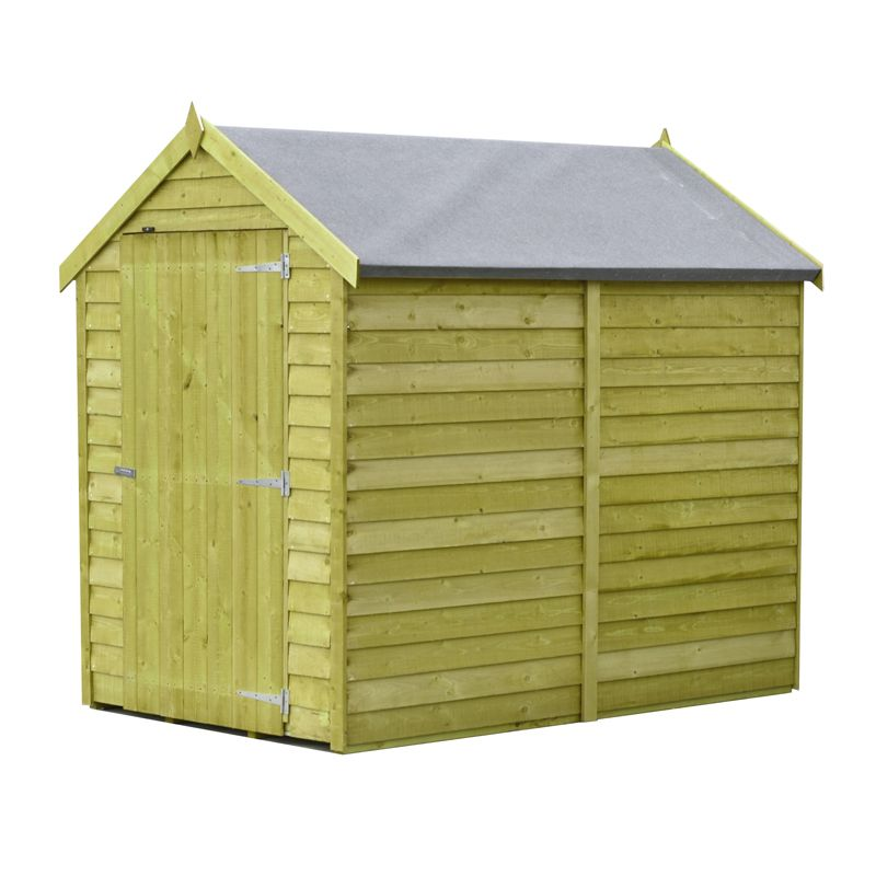 Shire Overlap Pressure Treated Garden Shed 6' x 4'