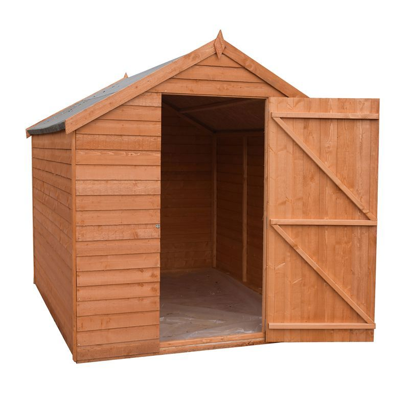 Shire Overlap Garden Shed 8' x 6'