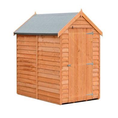 Garden Shire Overlap Value Apex Single Door Shed 6' X 4'