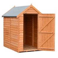 See more information about the Shire Overlap Garden Shed 6' x 4'