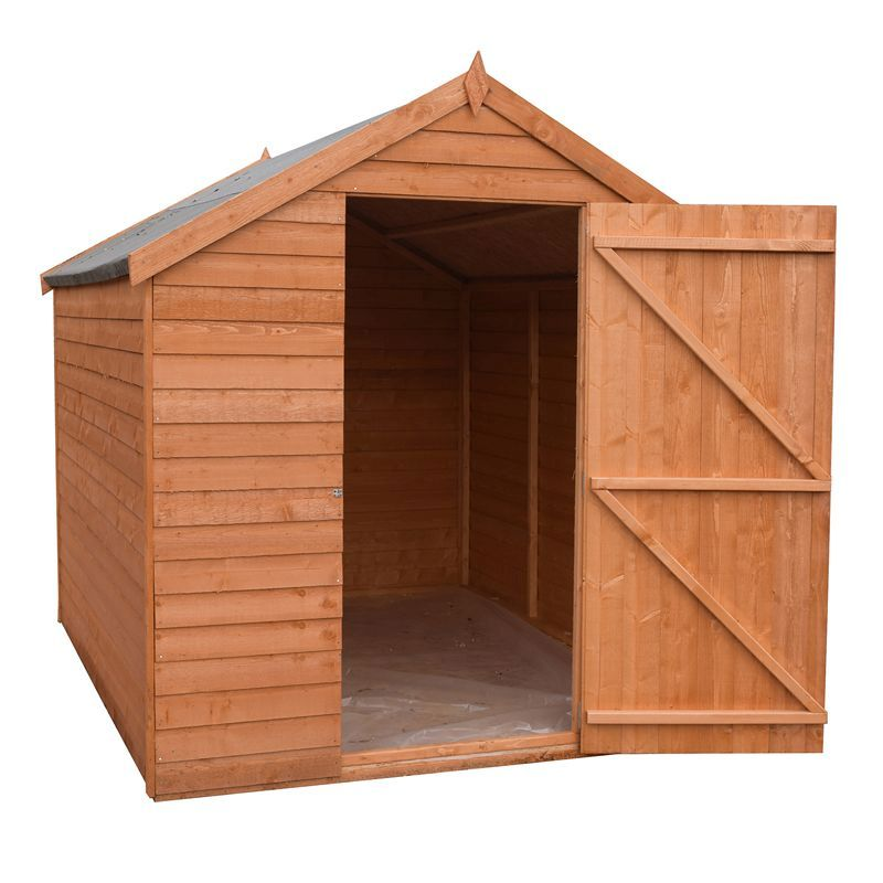Shire Overlap Garden Shed 7' x 5'