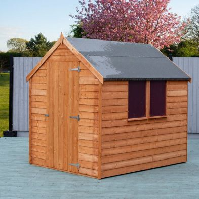 Garden Shire Overlap Value Apex Single Door Shed 7' X 5'
