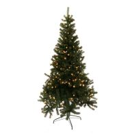 See more information about the 150cm (4 Foot 11 inch) Green Prelit Grenoble Pine 130 Tips 150 LEDs