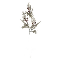 See more information about the Festive Pine Branch Stem Champagne & Glitter Gold 65cm