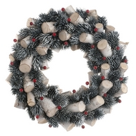See more information about the Festive Berries & Stick Wreath Red 36cm