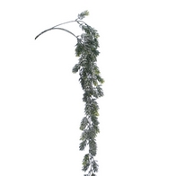 See more information about the Festive Pine Cone Hanging Branch Stem Natural 77cm