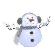 See more information about the 4 LED Multicolour Light Up Snowman 36cm