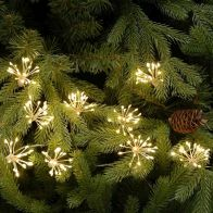 See more information about the 400 LED Warm White Twinkling Starburst Lights