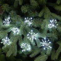 See more information about the 400 LED White Twinkling Starburst Lights
