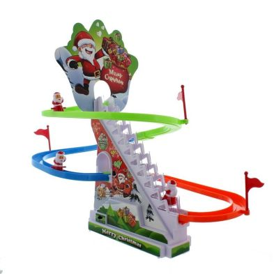 Santa Race Christmas Toy