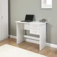 See more information about the Panama 2 Drawer Desk - White