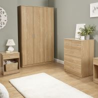 See more information about the Panama 4 Piece Oak Finish Furniture Set