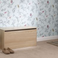 See more information about the Panama Storage Ottoman Oak Style