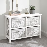 See more information about the Padstow 4 Drawer Chest of Drawers White