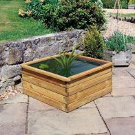 See more information about the Wooden Aquatic Planter