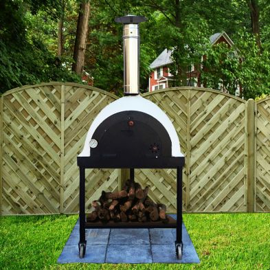 Xclusive Decor Outdoor Royal Portable Wood Fired Pizza Oven