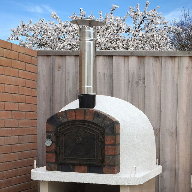 Outdoor Premier Wood Fired Pizza Oven - Buy Online at QD ...