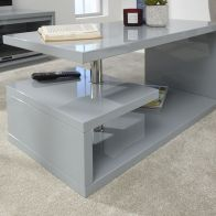 See more information about the Polar High Gloss LED Coffee Table - Grey