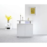 See more information about the Polar High Gloss 2 Door Sideboard White