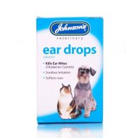 See more information about the Dog and Cat Ear Drops - Johnson