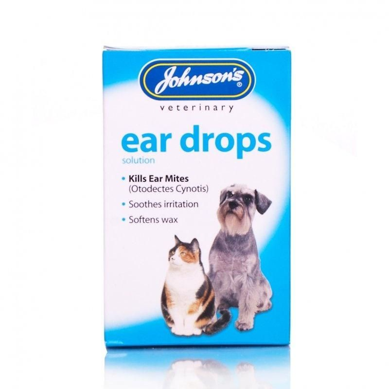 Dog and Cat Ear Drops - Johnson
