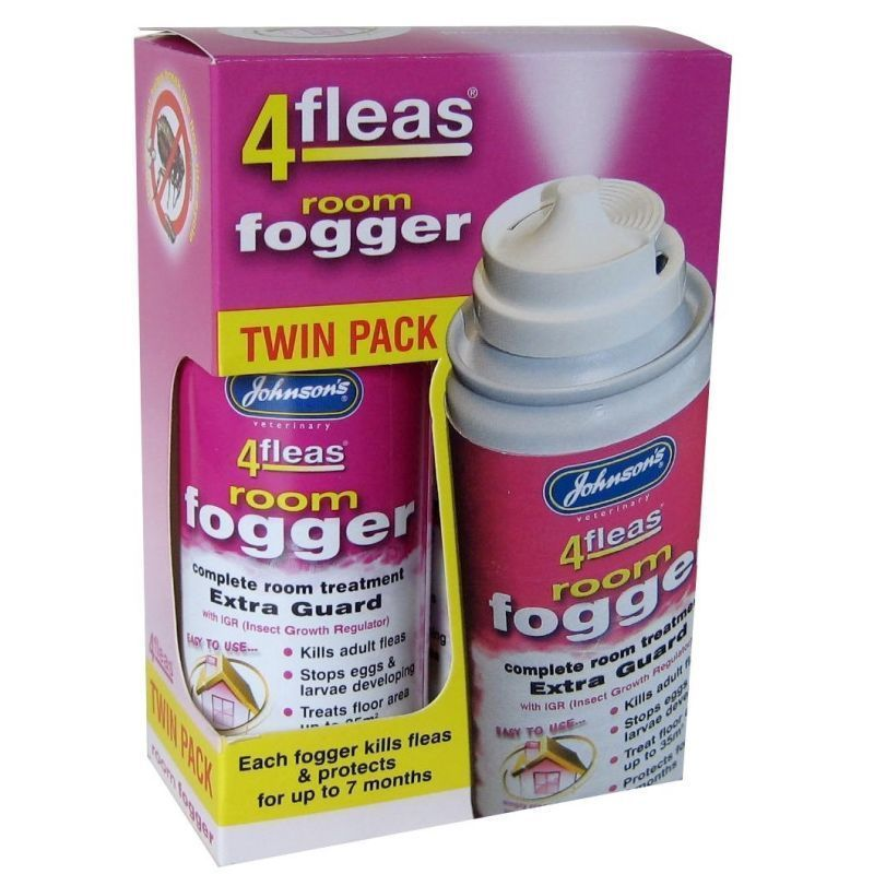 4Fleas Fogger Twin Pack - Johnson