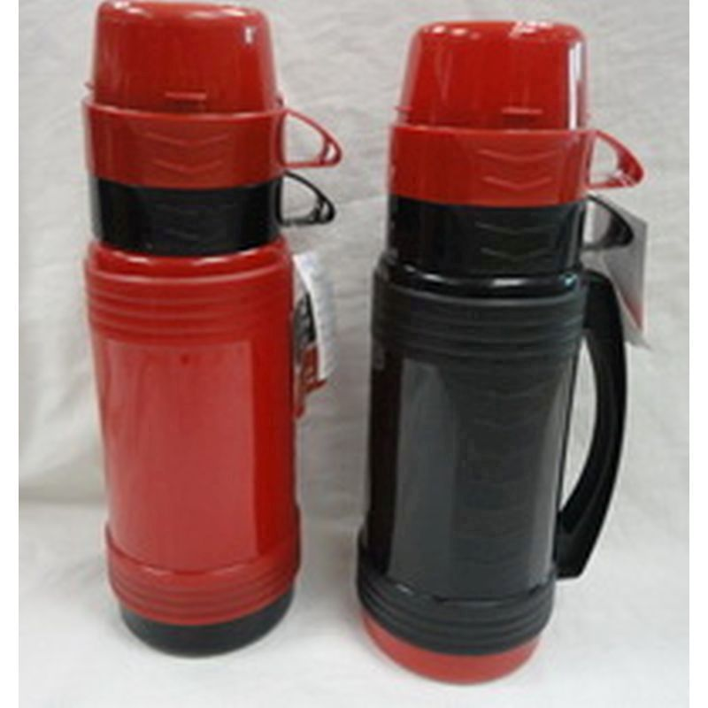 1 Litre Drinks Flask Black