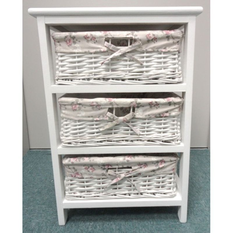 Wicker Drawer Unit Material